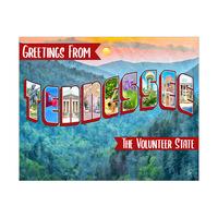Tennessee Postcard