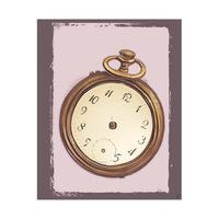 Brass Handless Watch