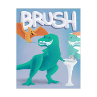 Brush - Dinosaur