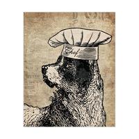 Chef Dog Brown