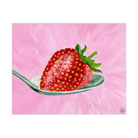 Strawberry On A Spoon