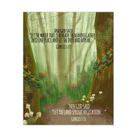 Let the Land Sprout Vegetation