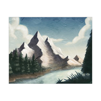 Mountain by the River