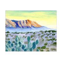 Desert View At Dawn Alpha