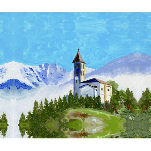 Italian Alp Church