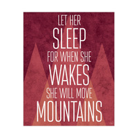 She Will Move Mountains - Crimson