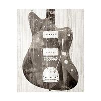 Painted Electric Guitar Black