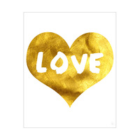 Golden Love - Heart