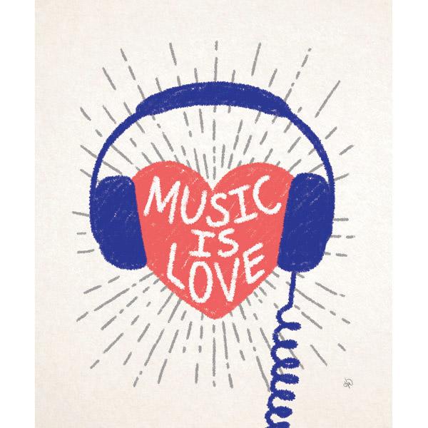 Music is Love - Blue