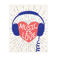 Music is Love - Blue