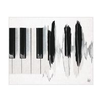 Black Piano Waves