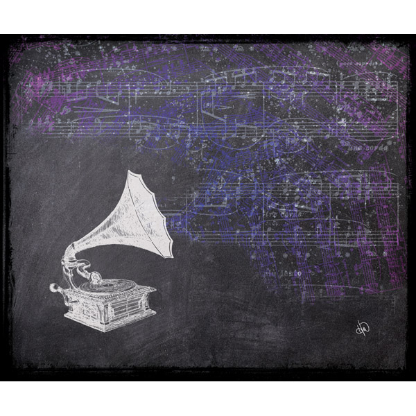 Phonograph Chalk Alpha