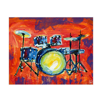 Colorful Drum Set