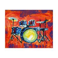 Colorful Drum Set