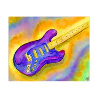 Splashing Guitar
