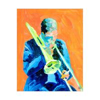 Slide Trumpet Player Alpha