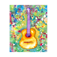 Colorful Folk Guitar Alpha