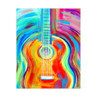 Colorful Guitar Vibrations Alpha