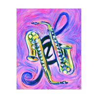 Dueling Saxophones Alpha