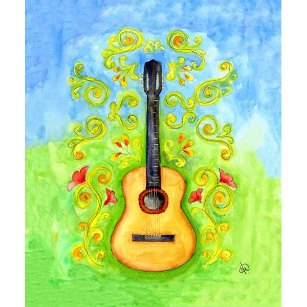 Flower Guitar Alpha