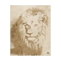 Watercolor Lion Alpha