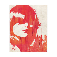 Drippy City Girl Red