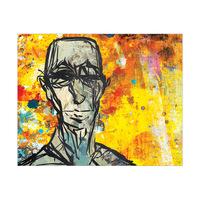 Elderly Portrait Cadmium