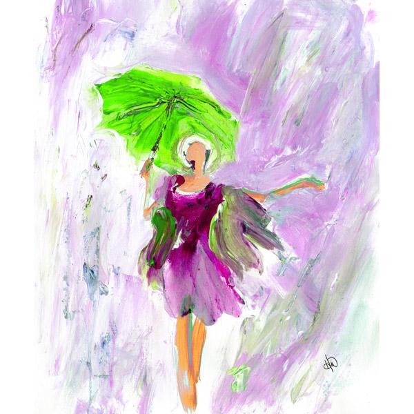 Lady In The Rain Alpha