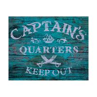 Captain's Quarters - Teal