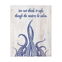 Do Not Think it Safe - Blue