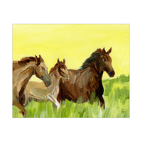 Countryside Horses