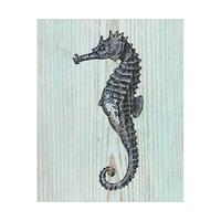 Rustic Seahorse Aquamarine