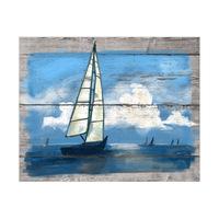 Sailing Away- Blue
