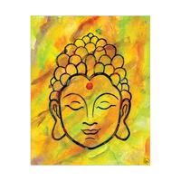 Watercolor Buddah