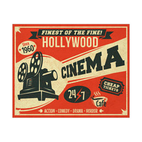Hollywood Cinema - Red