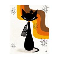 Clarinet Cat Orange