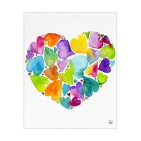 Color Fantasy Heart