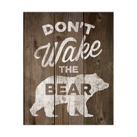 Don't Wake the Bear