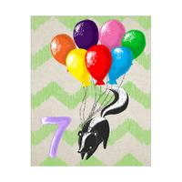 Seven Balloon