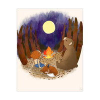 Campfire With Friends - Ginger