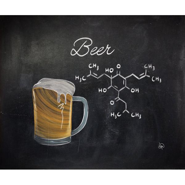Beer Chalkboard Alpha