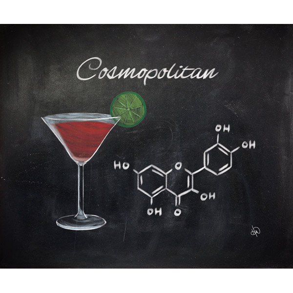 Cosmopolitan Chalkboard Alpha
