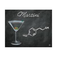 Martini Chalkboard Alpha