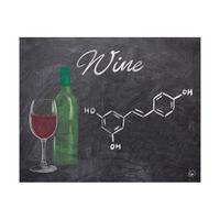 Wine Chalkboard Alpha