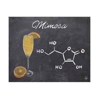 Mimosa Chalkboard Alpha