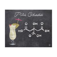 Pina Colada Chalkboard Alpha