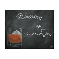 Whiskey Chalkboard Alpha