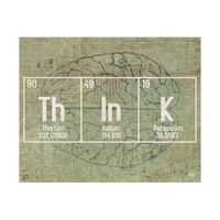 Think Brain Green