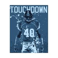 Touchdown - Blue