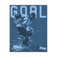 Hockey Goal - Blue